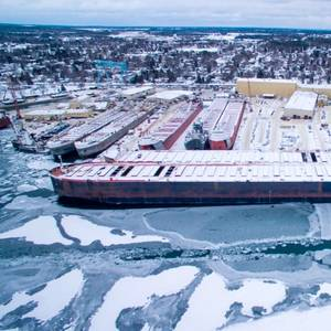 US-flag Great Lakes Fleet Will Get $65 Mln Winter Tune-up