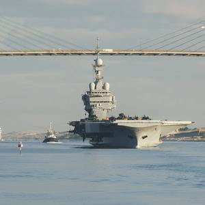 Almost Half of French Aircraft Carrier Crew Test Positive for COVID-19