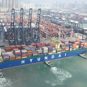 HMM to Order 20 Mega Containerships