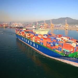 Hyundai Merchant Marine to Spend $2.8 Bln on 20 Containerships