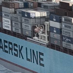 Another Maersk Containership Catches Fire