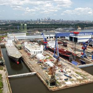 Theisen Returns to Philly Shipyard as CFO