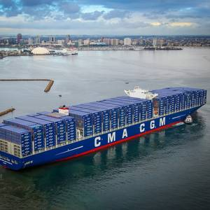 CMA CGM Confirms Order for Nine Mega Ships