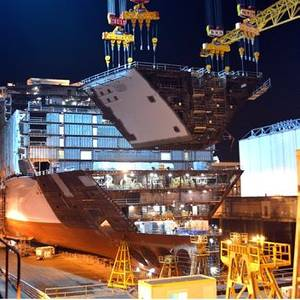 Macron Seeks Review of STX Shipyard Sale to Fincantieri