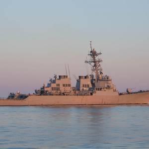 US Warship Assists Distressed Sailing Vessel
