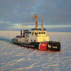 Icebreaking Kicks Off on the Great Lakes