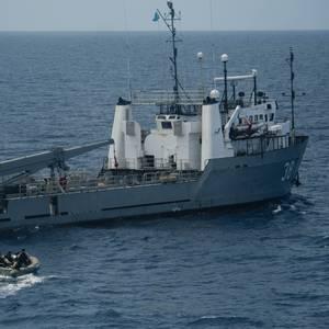 Hallucinating Man Medevaced from US Navy Ship