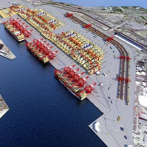 Cargo Dips in July at Port of Long Beach