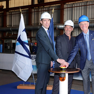 Fincantieri Cuts First Steel for Windstar