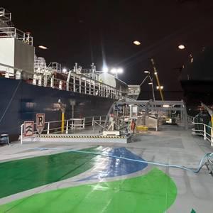 1st Ship-to-Ship Bunkering at Belgium Port