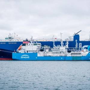 Ship-to-ship LNG Bunkering Starts in Port of Zeebrugge