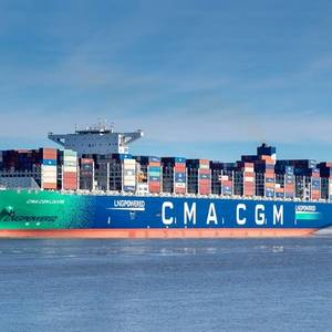 CMA CGM Sees Strong Shipping Demand Continuing in First Half