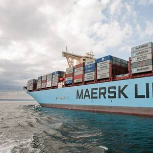 ABS to Class Maersk's Methanol-fueled Containerships