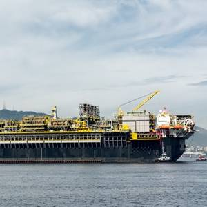 FPSO P-70 'Stable' After Storm Pushes it Near Coast