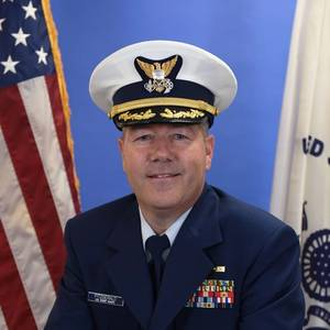 Fitzgerald Honored as he Retires from the US Coast Guard Reserve