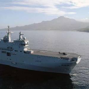 France Sends Warship to Evacuate Coronavirus Patients