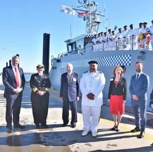 Austal Delivers 11th Guardian-class Patrol Boat
