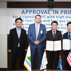 HHI Receives AIP for Bulk Carrier Design