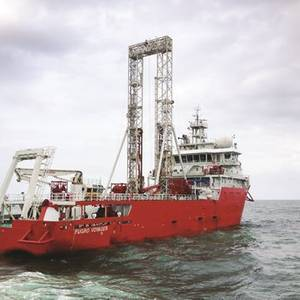 Fugro Returns to China for Gas Hydrate Research