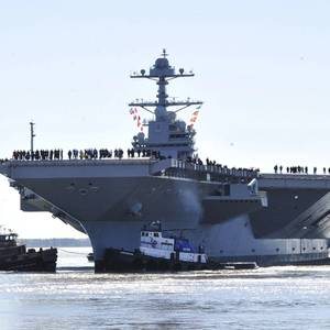 US Navy Asks Huntington Ingalls for Pricing on Two Aircraft Carriers