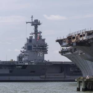 USS Gerald R. Ford Returns to Newport News