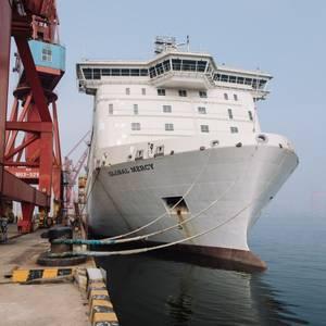 Mercy Ships' New Hospital Ship Completes Sea Trials
