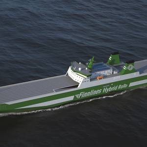 Finnlines Orders MAN Propulsion Package for New RoRos