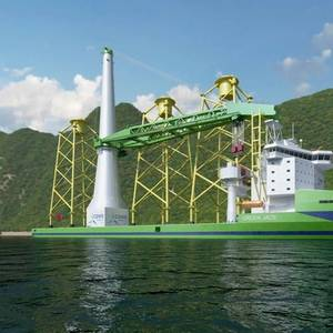 CSBC-DEME JV Makes FID for First Taiwan-built Offshore Installation Vessel