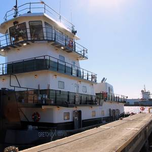 Blakeley BoatWorks Delivers Towboat to CMT