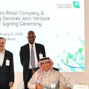 Saudi Aramco, Total in USD1bln Pact