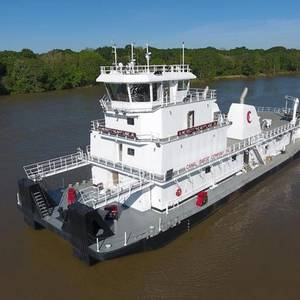 Conrad Delivers 6,000hp Towboat to Canal Barge
