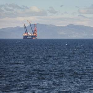 Output Spike Brightens North Sea's Twilight Years