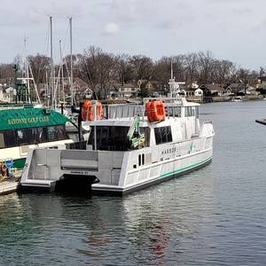 MN100: Harbor Harvest's Shortsea, Environmentally Correct Shipping Arrives