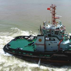 Cheoy Lee Delivers First of Two New Tugs for Yiu Lian Dockyards