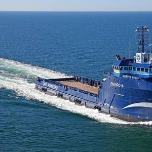 Harvey Gulf PSV Receives Hybrid Retrofit