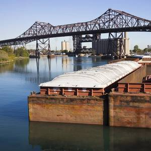 Excessive Rain Disrupts US River Barge Shipping