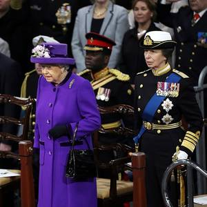Queen Elizabeth Welcomes UK's New Aircraft Carrier