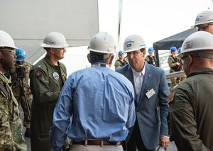 Secretary of Defense Esper Visits Newport News Shipbuilding