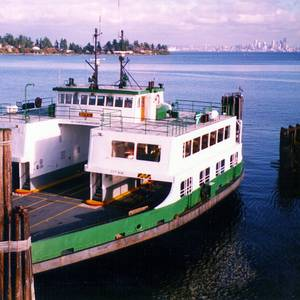 Retired Ferry Gets a New Lease on Life