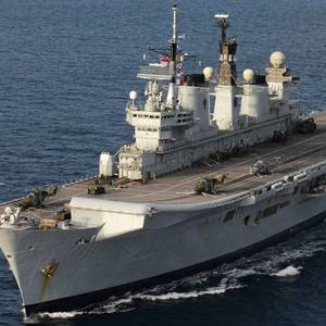 Former HMS Illustrious Sold for Scrap