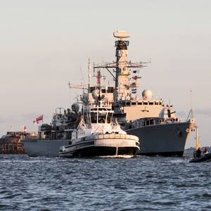 UK Warship Sails for Gulf Mission