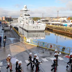 UK's Second River Class OPV Named