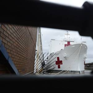 Patients on US Hospital Ships Test Positive for COVID-19