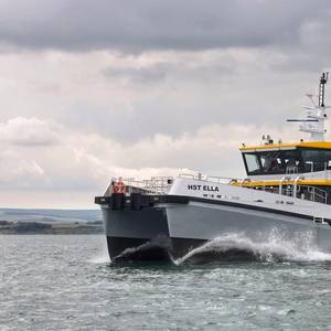 HST Marine Takes Delivery of Hybrid CTV