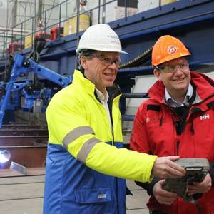 'World's Greenest Cruise Ship' Construction Underway