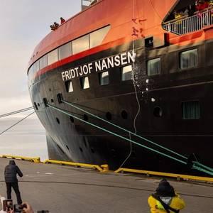 Hurtigruten's New Cruise Ship Named 'Next to the North Pole'
