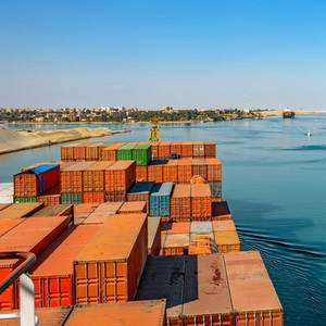 Suez Canal Ship Transits Rise Amid COVID-19