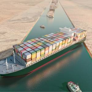 Full Refloating of Stuck Ship in Suez Canal Not a 'Piece of Cake,' Boskalis CEO Says