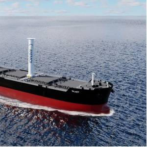 Tufton Invests in Wind Power for 82,000 dwt Bulk Carrier