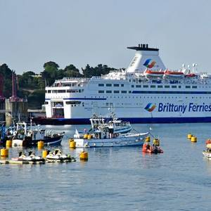 CMA CGM Invests in Brittany Ferries